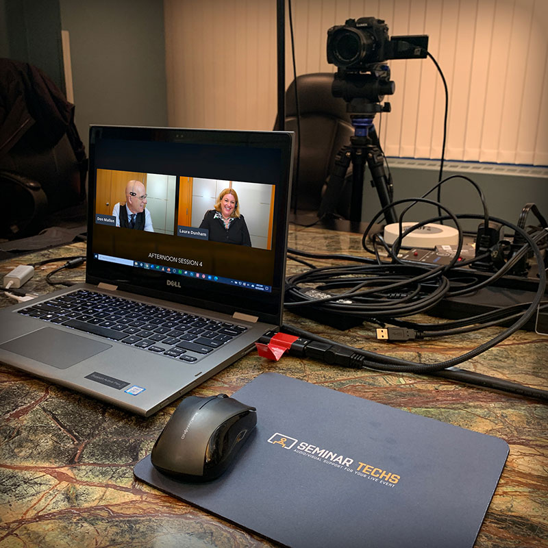 Livestreaming Hybrid Virtual Events Edmonton